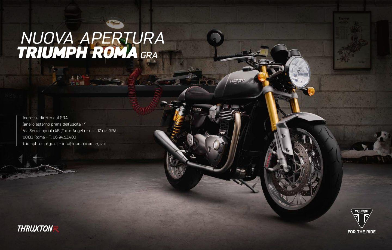 Nuova apertura Triumph Roma GRA